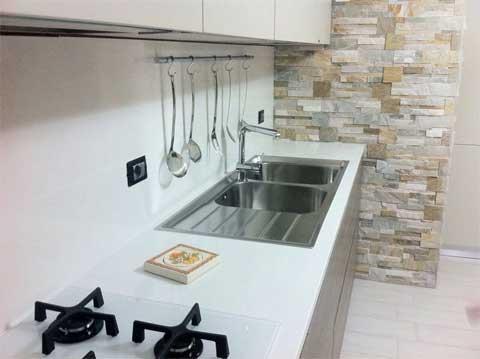 R g service s r l lavorazione e commercializzazione - Rivestimento top cucina ...